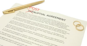 Postnutpial agreement winnipeg
